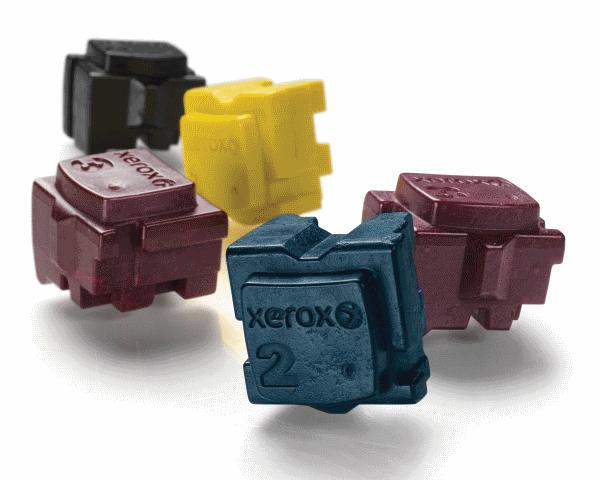 La tinta sólida de Xerox ofrece diversas ventajas como la baja huella de carbono que genera, la fácil inserción de los cubos o el ahorro de costes de impresión