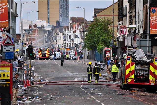 Disturbios en Londres // Imagen: George Rex (flickr)