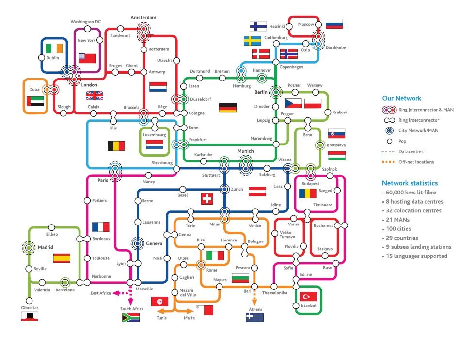 El nuevo datacenter forma parte de la red propia paneuropea desplegada por Interoute