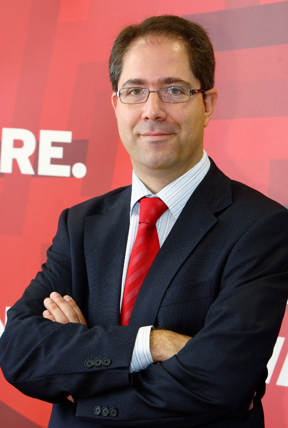 Santiago Madruga es Country Manager de Red Hat para España y Portugal