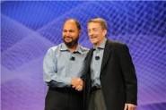 Paul Maritz y su sucesor en el cargo como CEO de VMware, Pat Gelsinger