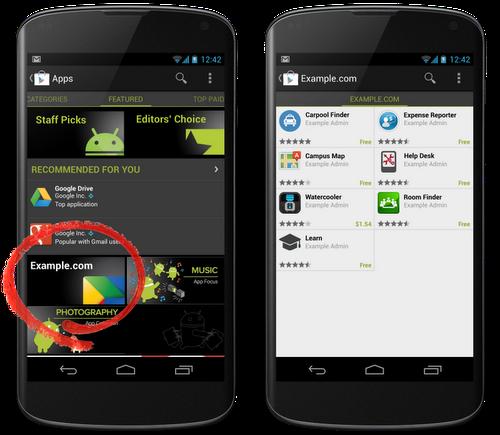 Google play store empresas