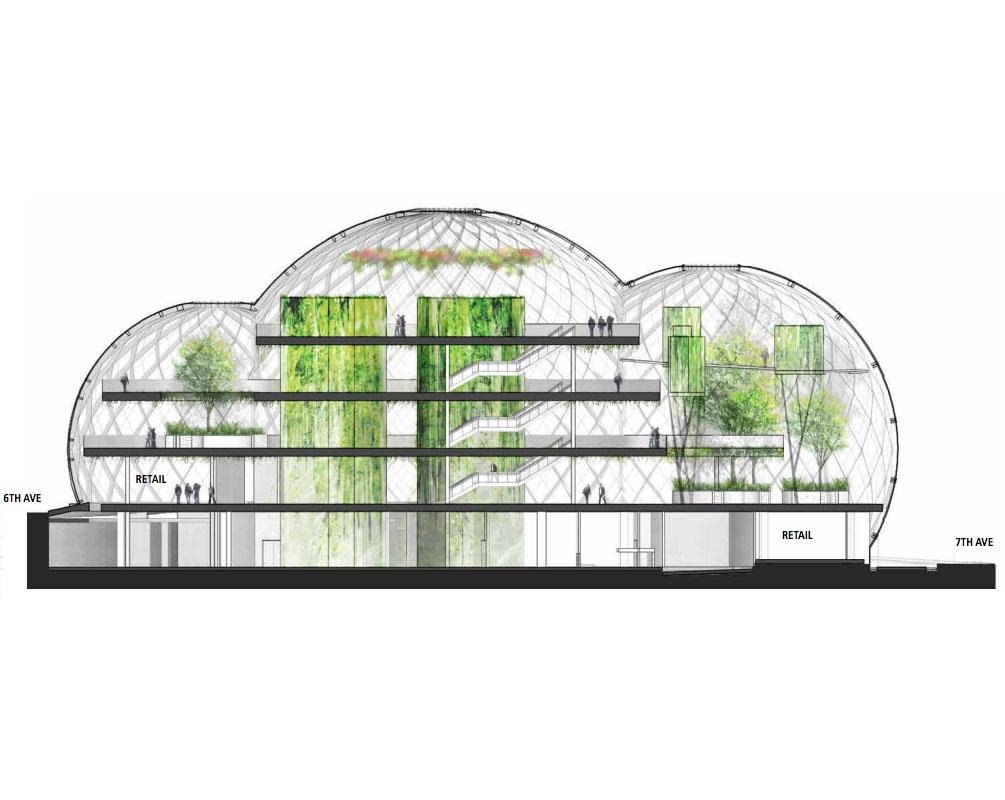 La nueva sede de amazon se inspira en el dise o de los Diseno de invernaderos pdf