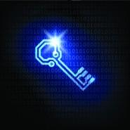 blue electronic background