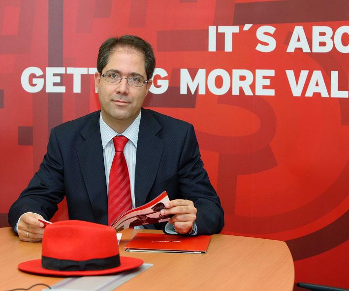 Santiago Madruga es Country Manager de Red Hat en España y Portugal