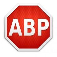 Logo de la verdadera AdBlock Plus