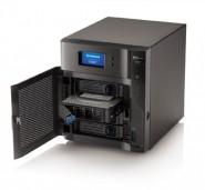 LenovoEMC px4-400d NAS - open front shot - 01_2014