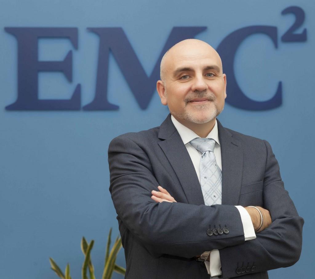 Fernando de la Prida, director general de EMC en España