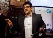 Salvador Cayón, director de Marketing en PPS HP Iberia, durante el encuentro