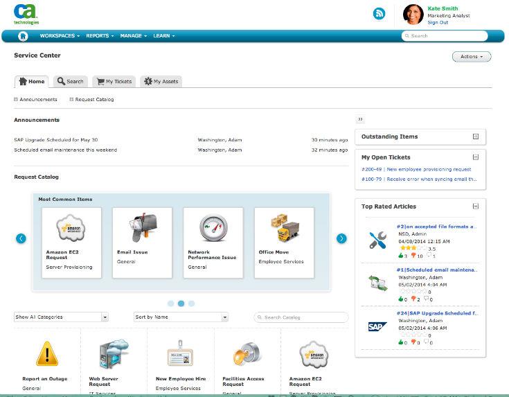CA Cloud Service Management 2