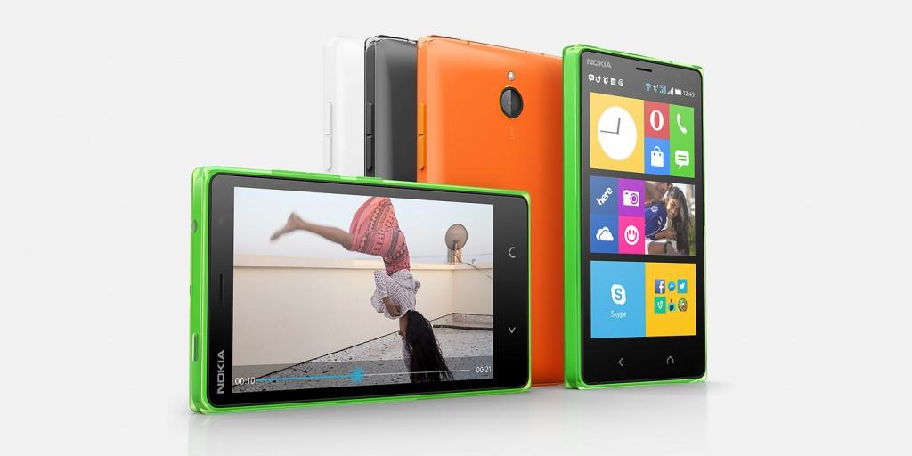 Nuevo Nokia X2 (Imagen por cortesía de Microsoft-Nokia - http://www.nokia.com)