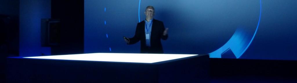 François Martin, WW Marketing Director de HP Graphics Solution Business, durante la presentación de los nuevos modelos de gran formato