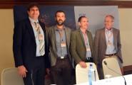 Los representantes de las cuatro organizaciones implicadas en Ergon: Andreas Loeschel, Massimo Filippini, Xavier Labandeira y Massimo Tavoni