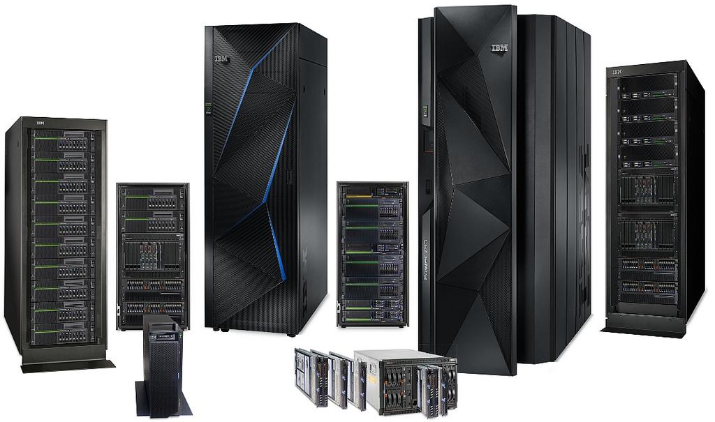 Familia de servidores IBM Power Systems basadas en el potente procesador Power 8.