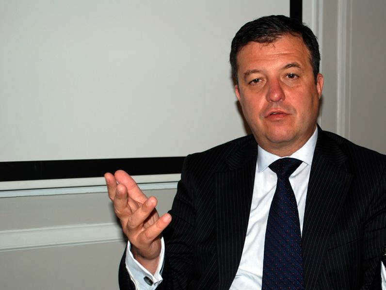 Rado Kotorov, CIO de Information Builders, en un momento de la entrevista