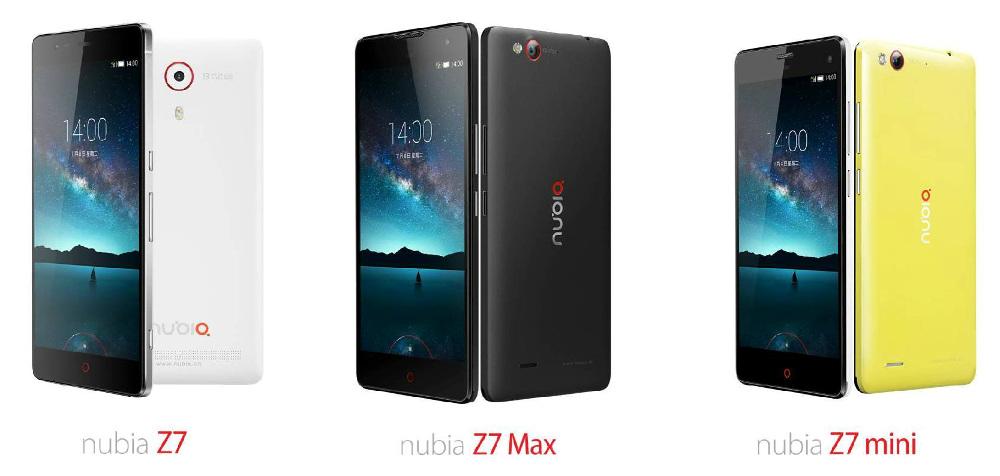 ZTE-nubia-Z7-Z7-Max-and-Z7-mini