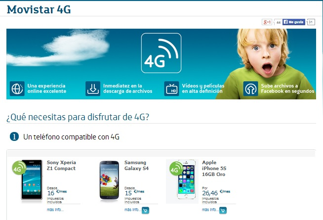 Telefonica 4G