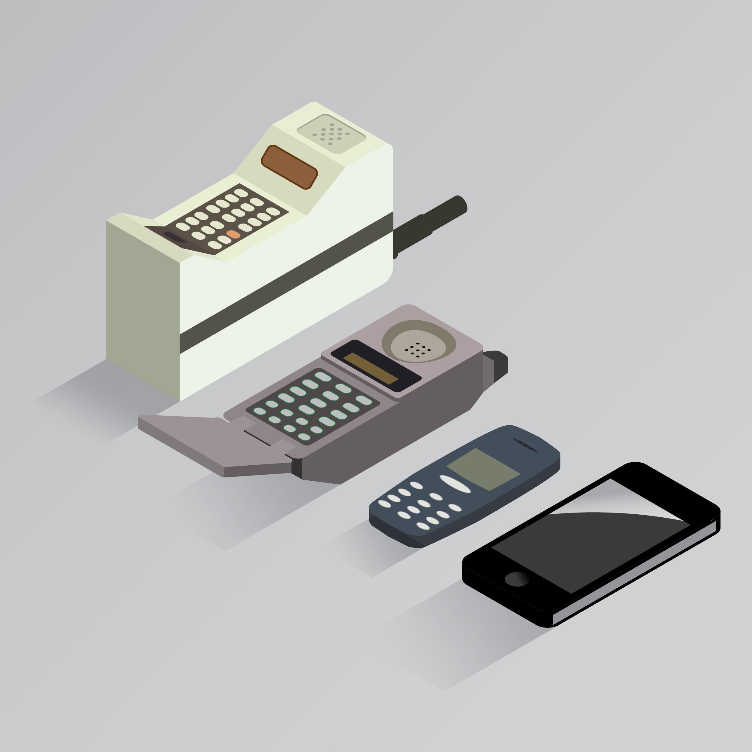1973 2012 evoluci n del tel fono m vil
