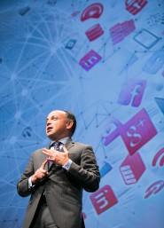 Leopoldo Boado, Country Manager and Technology Cluster Leader, Oracle, daba la bienvenida a los más de 500 asistentes que se dieron cita en Madrid
