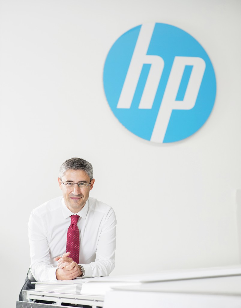 Ramón Pastor es  vicepresidente y director general del negocio de impresión en Gran Formato en HP