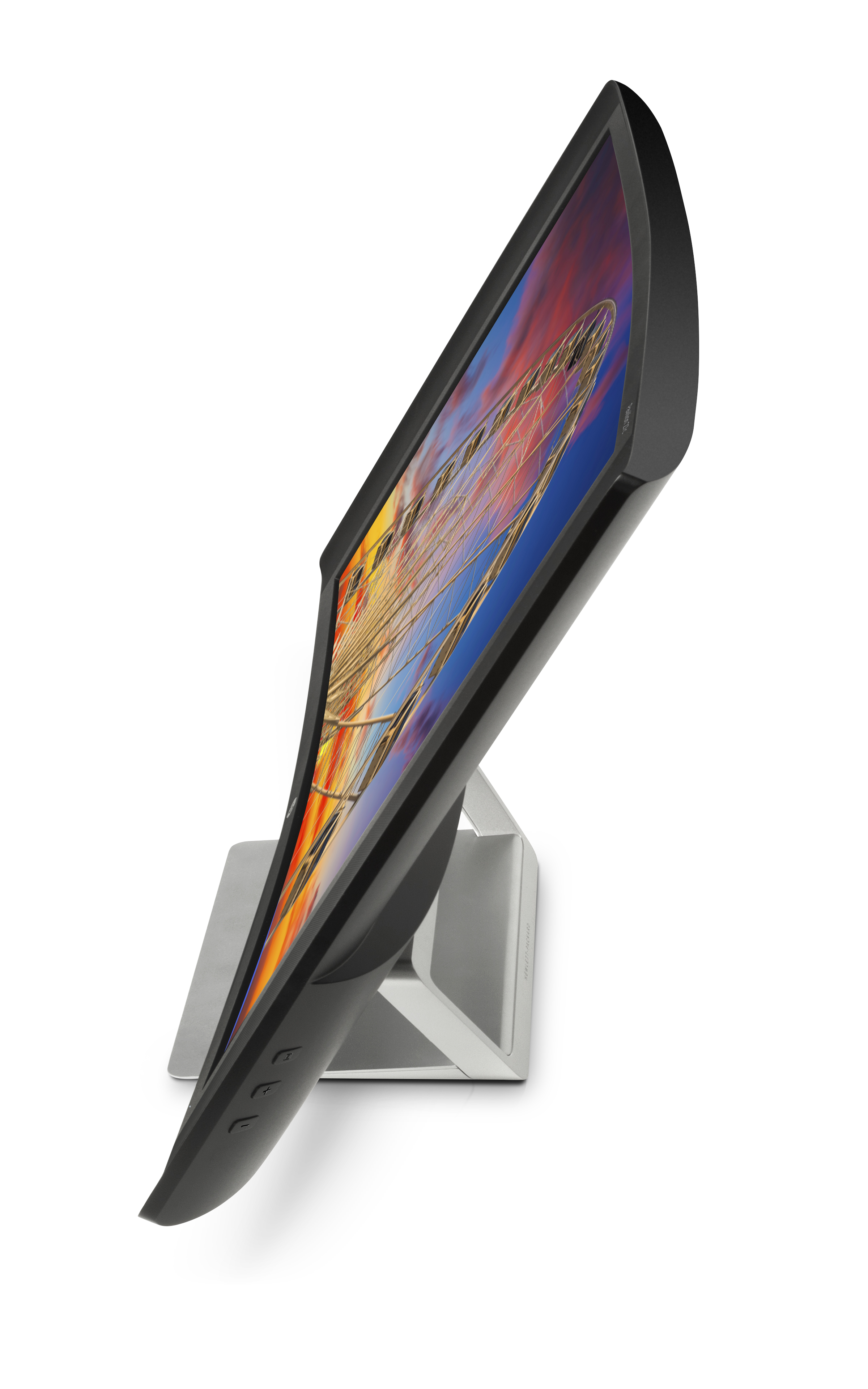 HP Pavilion 27c Curved Monitor, High Right Side Profile