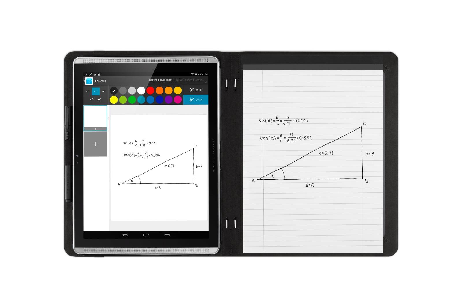 HP Pro Slate Digitized Writing