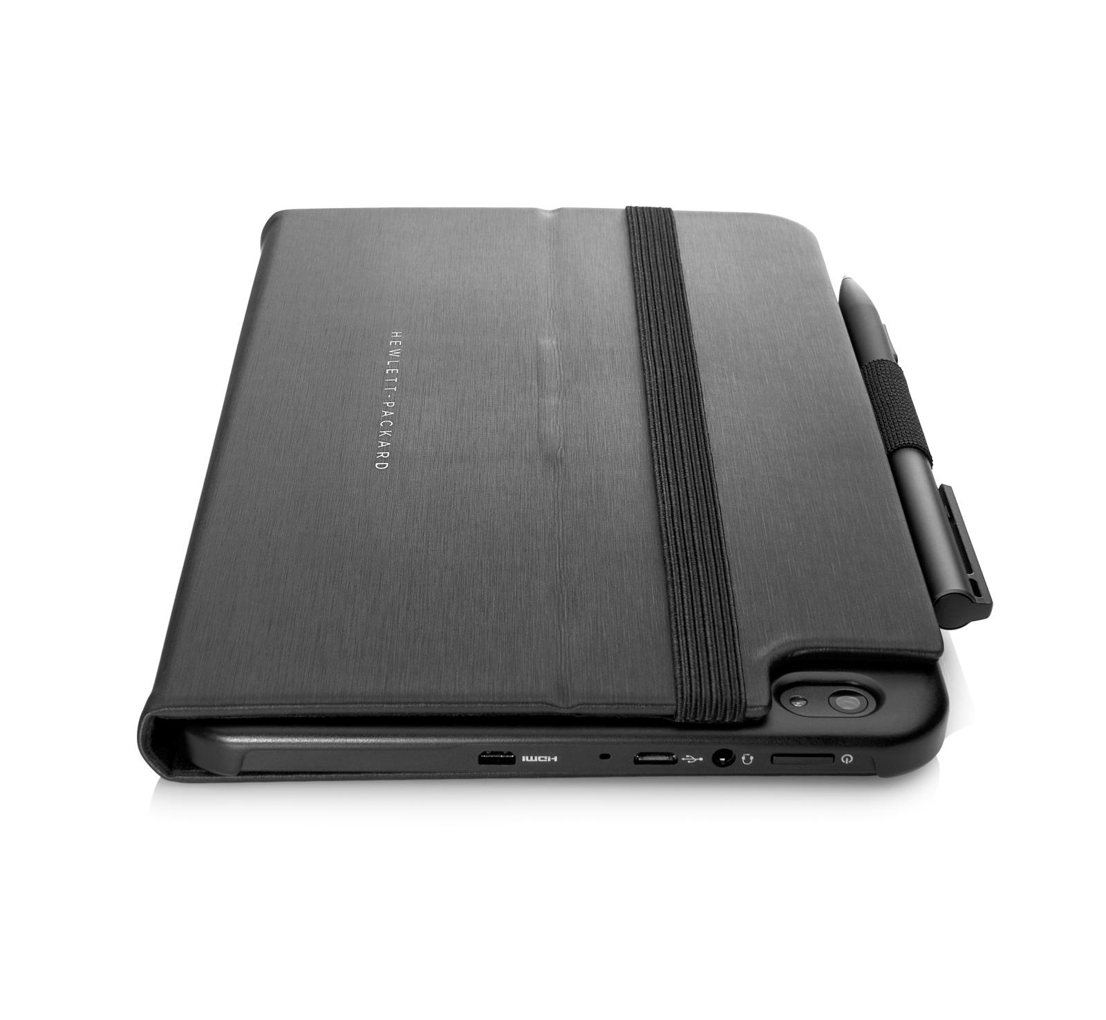 HP Pro Tablet 408 Back w Pen