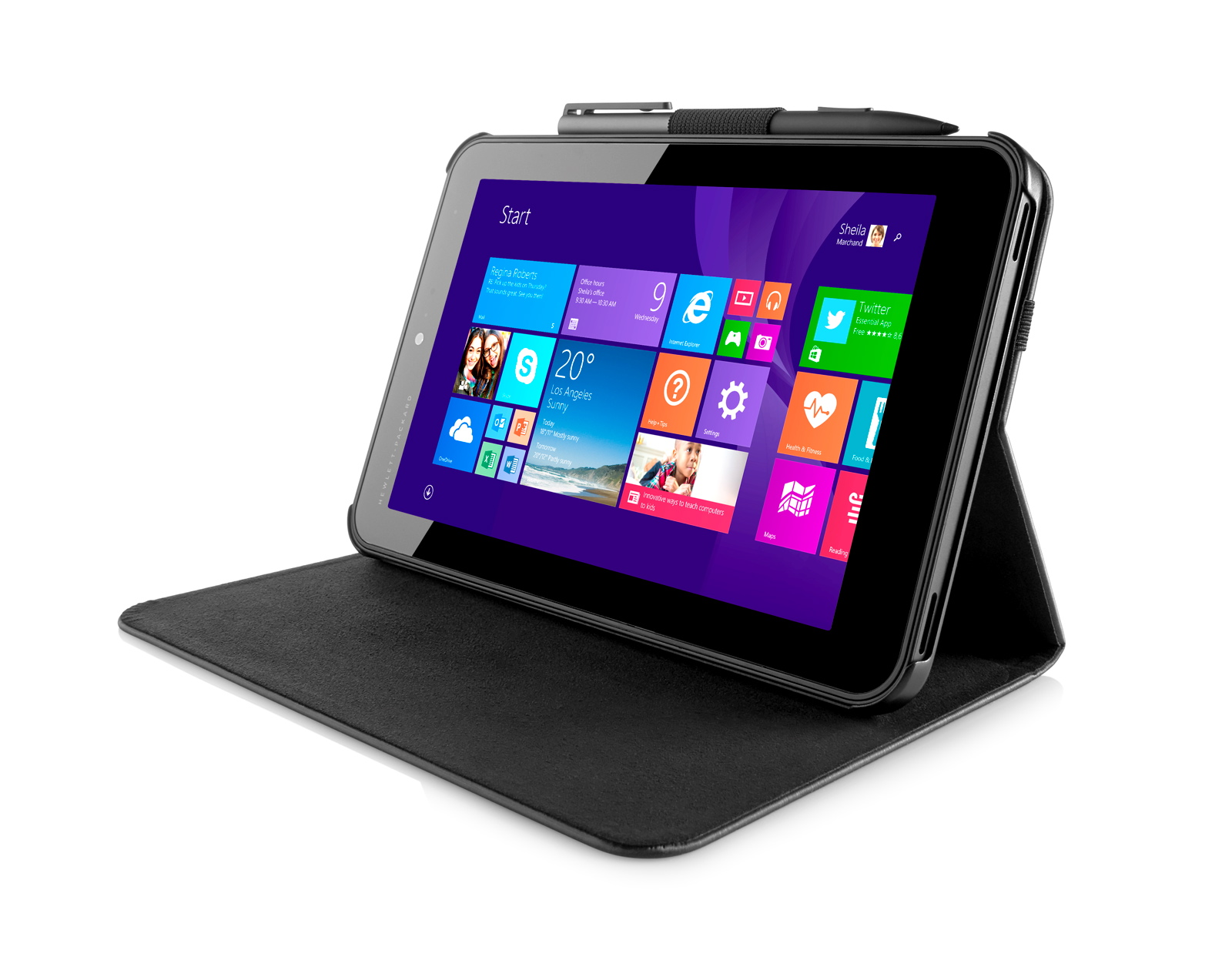 HP Pro Tablet 408 Left
