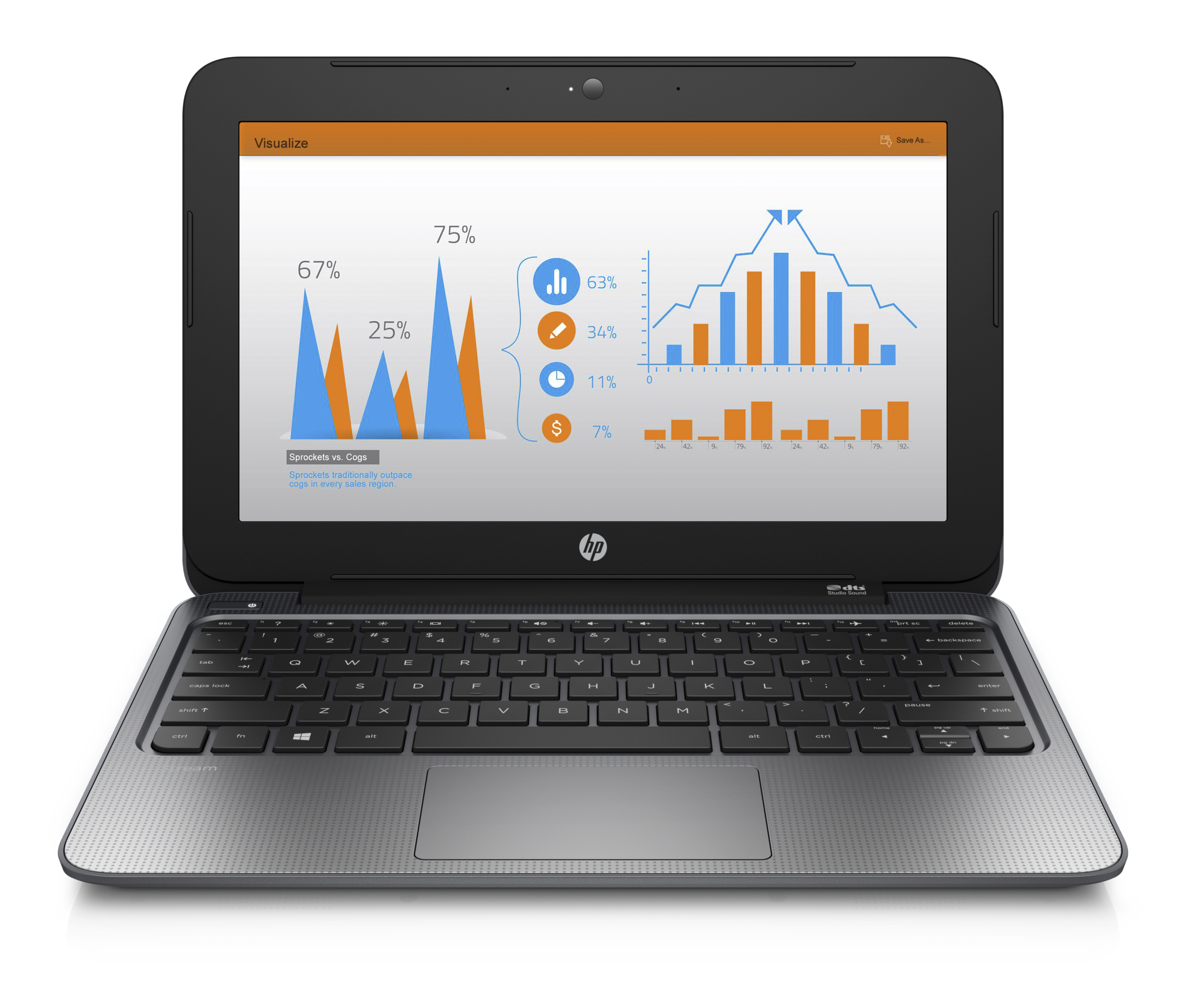 "HP Stream (11""), Catalog, Center facing"