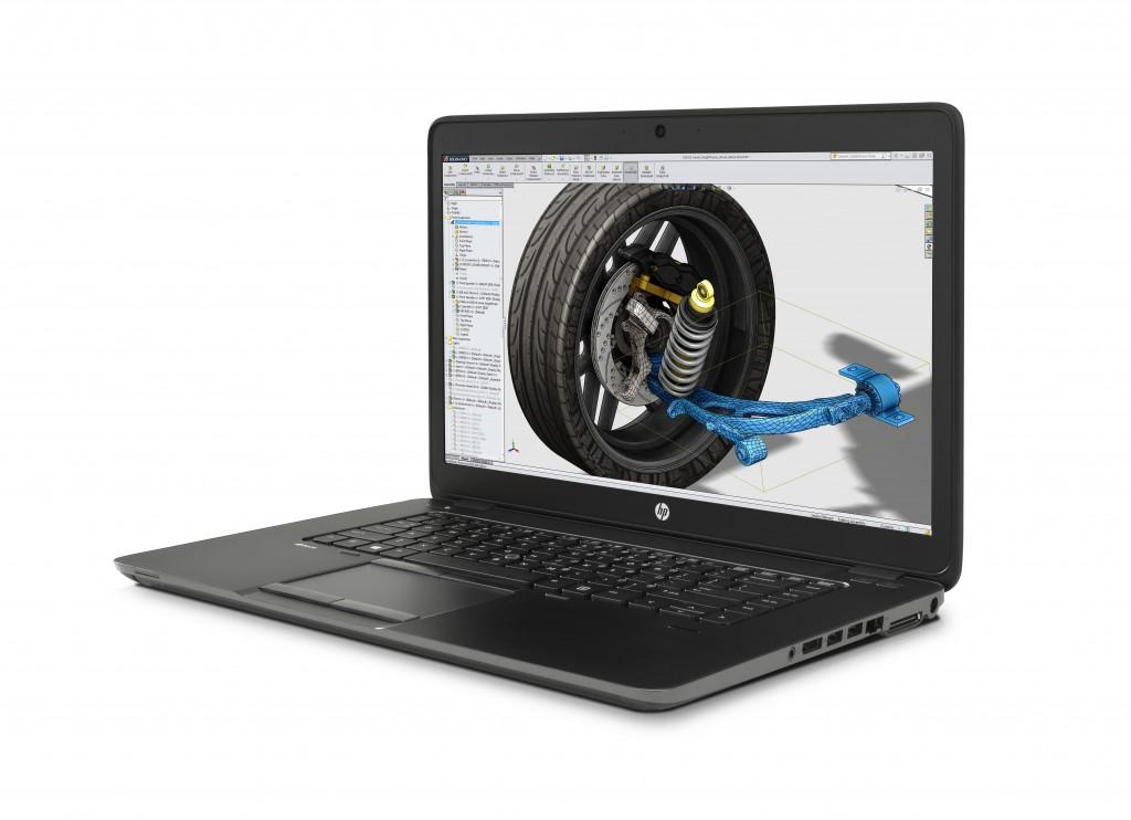 HP ZBook 15u, una de las Workstations ultrabook más ligeras del mercado