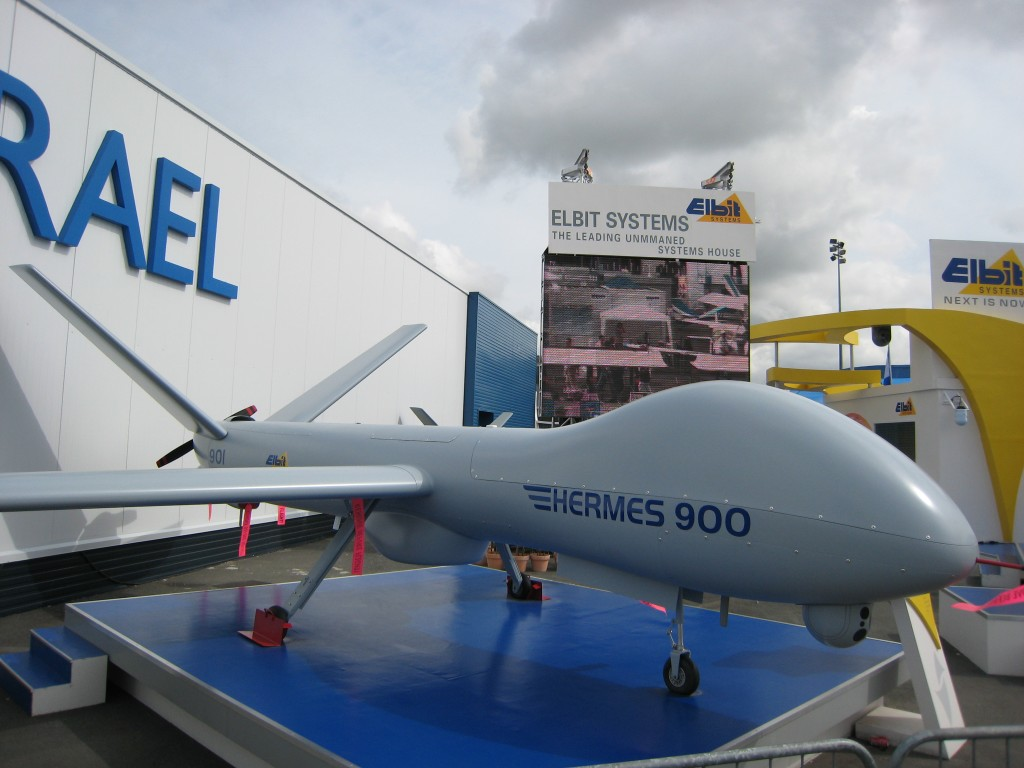 Uno de los drones que ya tienen usos comerciales de vigilancia es el Hermes 900 de Elbit Systems