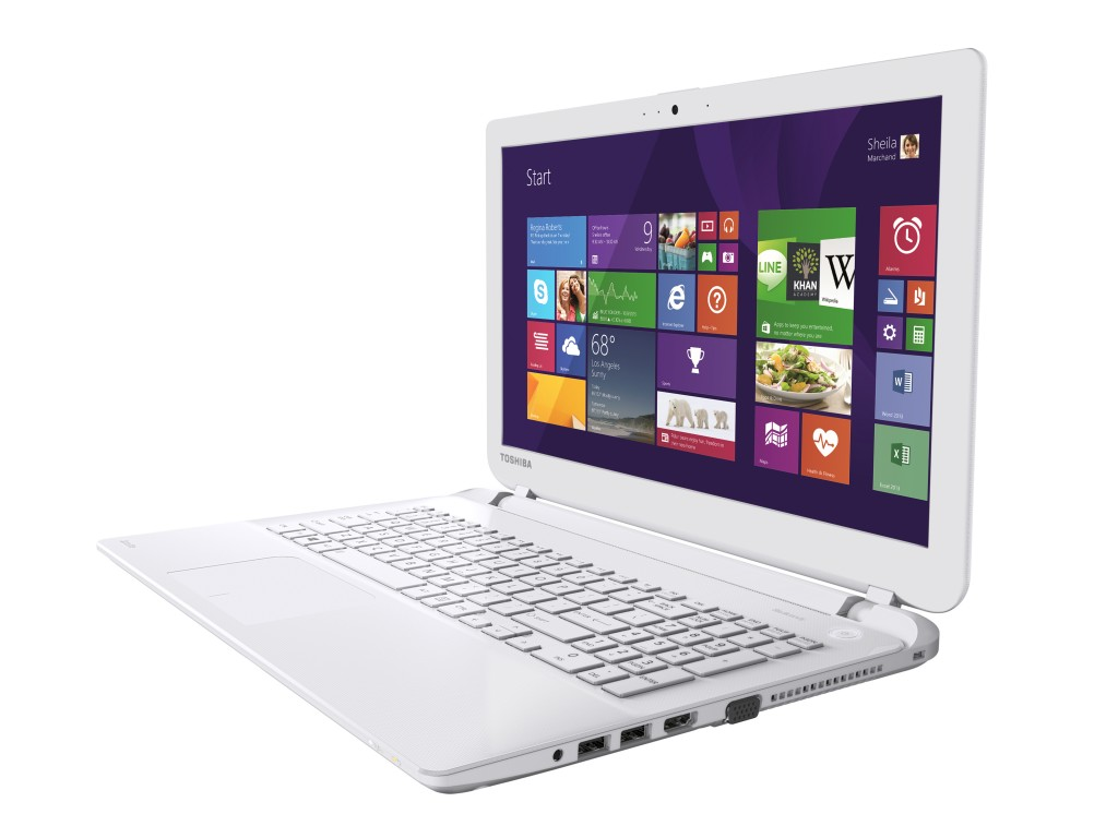 Satellite L50-B_White_Full Product_02_screen content