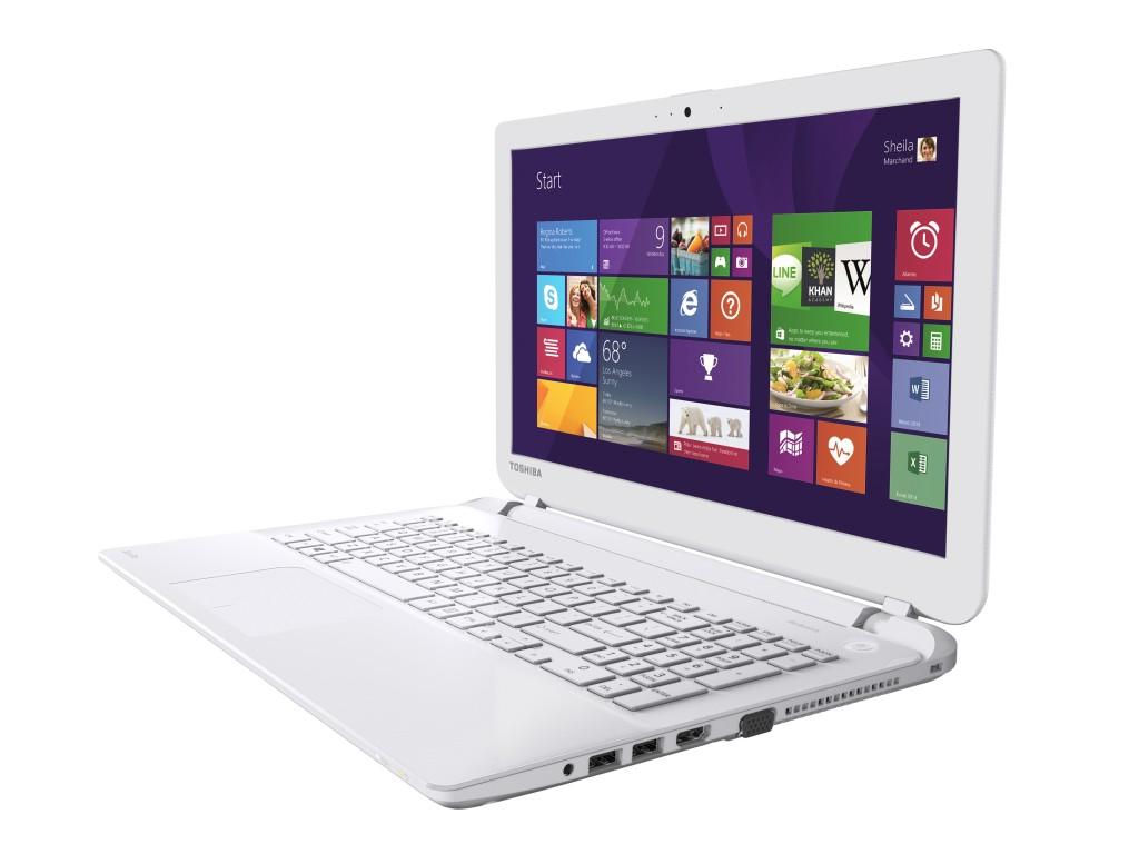Satellite L50-B_White_Full Product_02_screen content