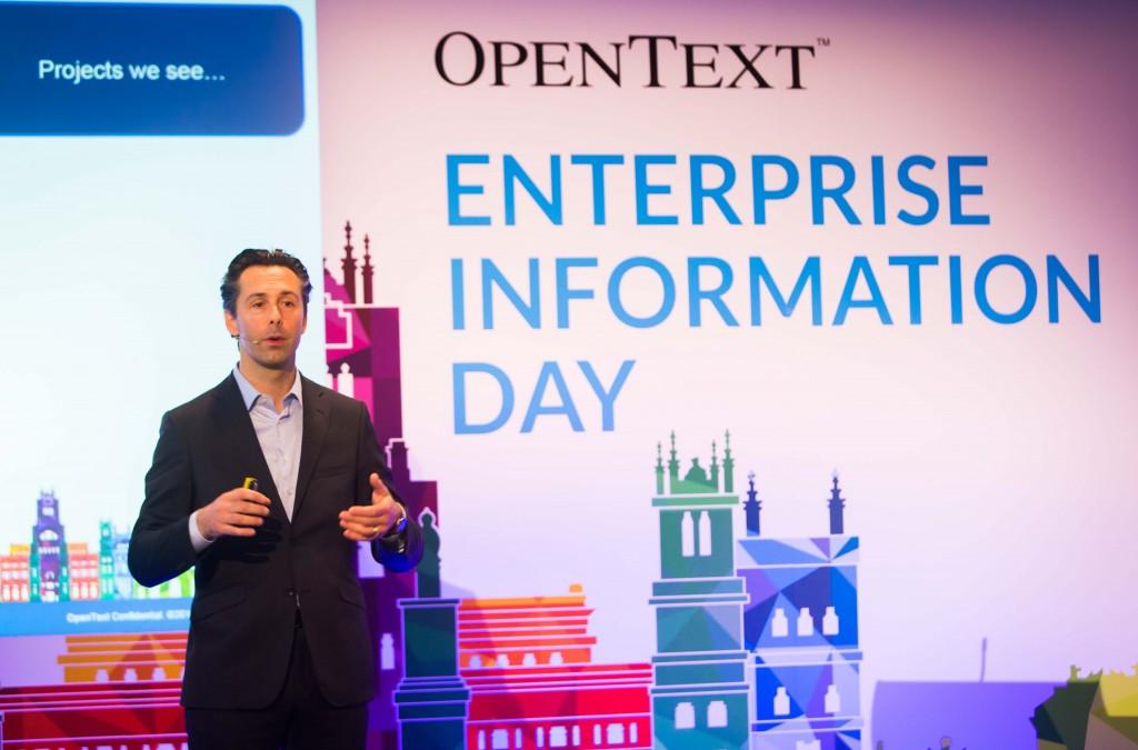 Benoit Perriquet, vicepresidente de Ventas para el Sur de Europa en OpenText