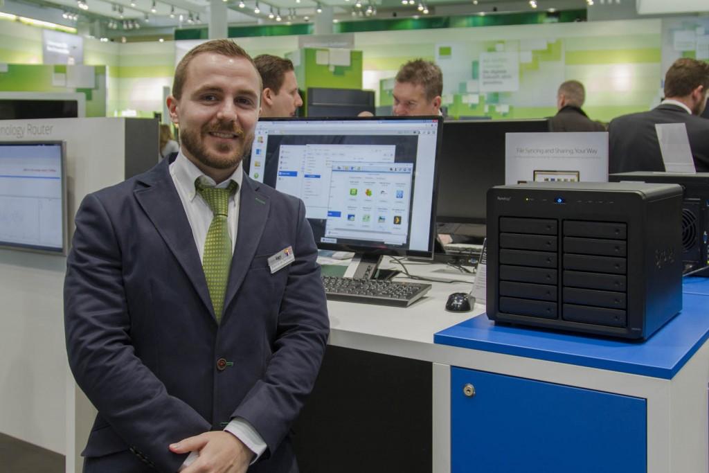 Marcos de Santiago es Marketing & Sales Product Manager para España y Portugal de Synology