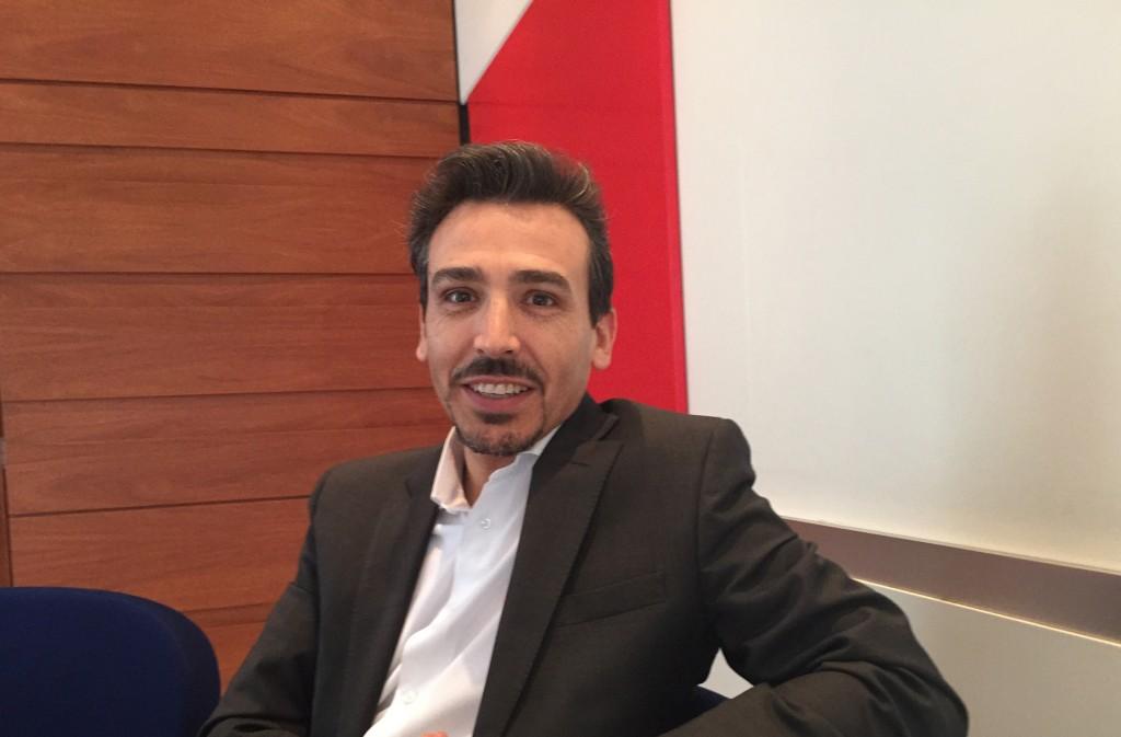 Guillermo Quintana, director de Banda Ancha Móvil de Ericsson Iberia