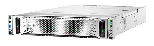 HP Converged System dentro