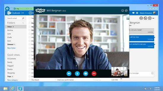 Skype-en-Outlook