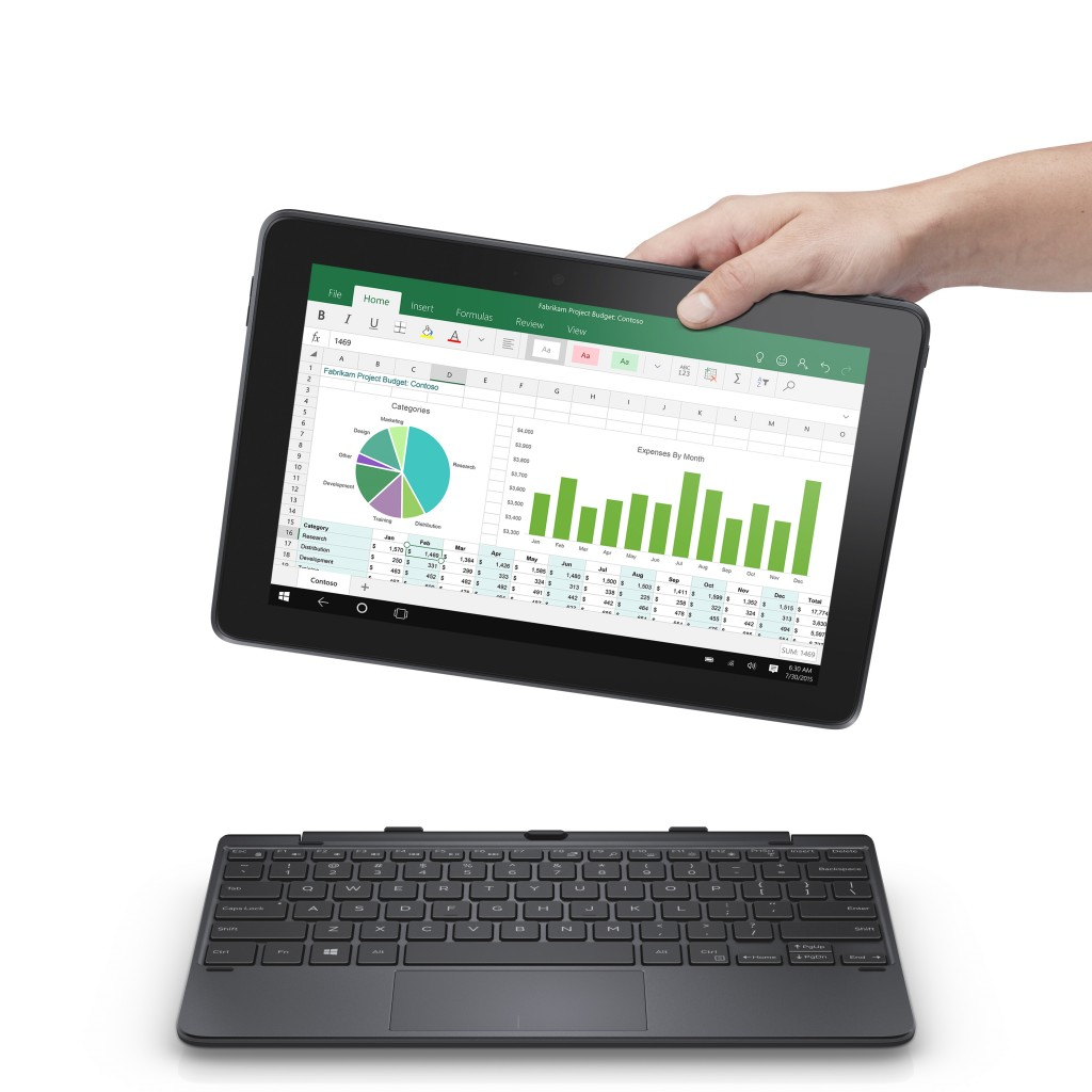 Venue 10 Pro 5000 Series Tablet with Keyboard