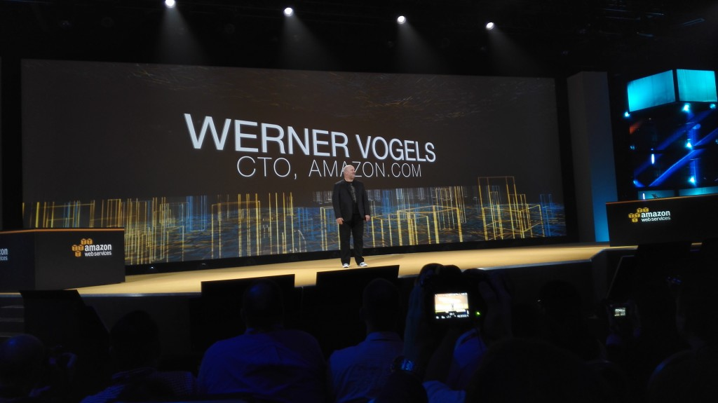 Werner Vogels, CTO de Amazon.com, durante su intervención en AWS re:Invent