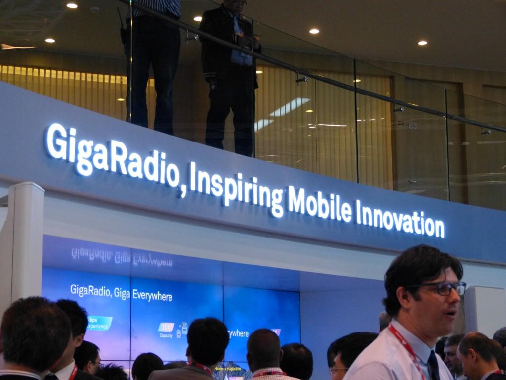 La tecnología GigaRadio se traduce en estaciones base un 20% más pequeñas pero con un 50% más de capacidad