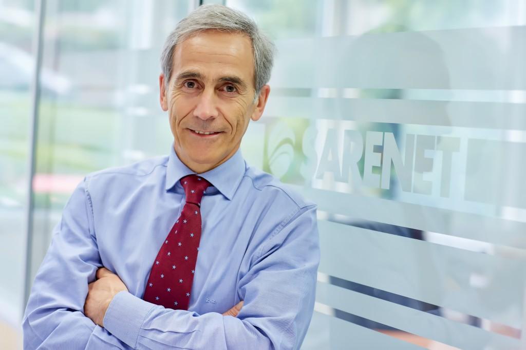 Roberto Beitia, presidente de Sarenet