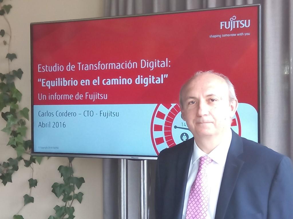 Carlos Cordero acaba de ser nombrado nuevo CTO de Fujitsu España