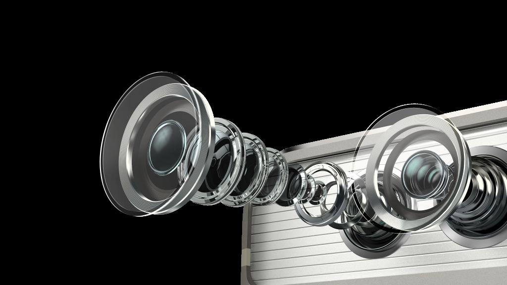 El sistema de lentes que componen la óptica fabricada por Leica