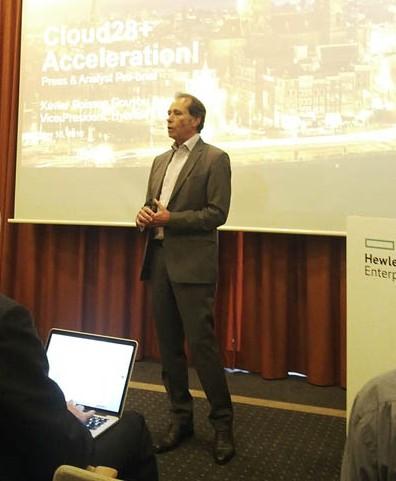 Xavier Poisson, vicepresidente de Hybrid IT para EMEA en HPE y creador de la iniciativa Cloud28+