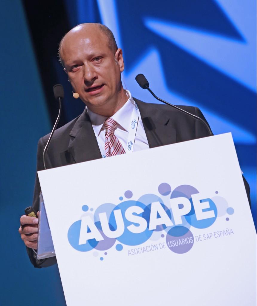 Xavier Ballart, Presidente de AUSAPE, durante su intervención en Fórum Ausape 2016
