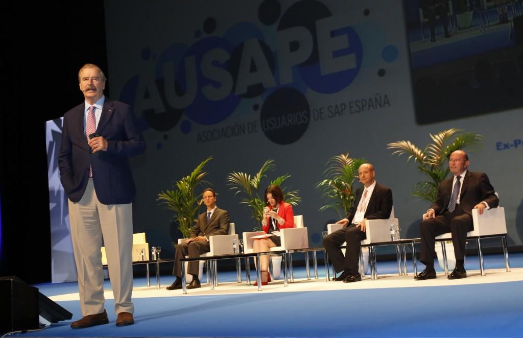 Vicente Fox, ex presidente de México e invitado especial de esta edición