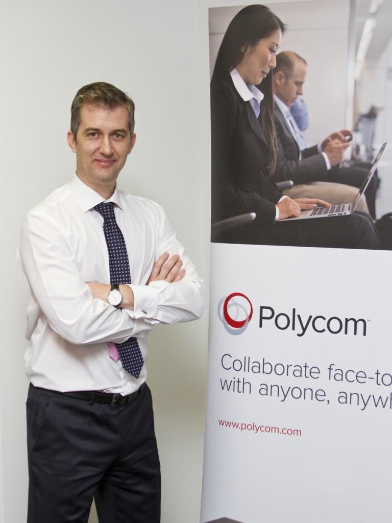 Pedro Ballesteros, Country Manager de Polycom España & Portugal