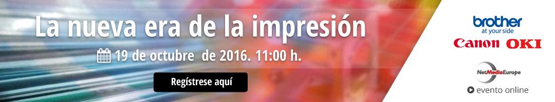 Evento online: La nueva era de la impresión