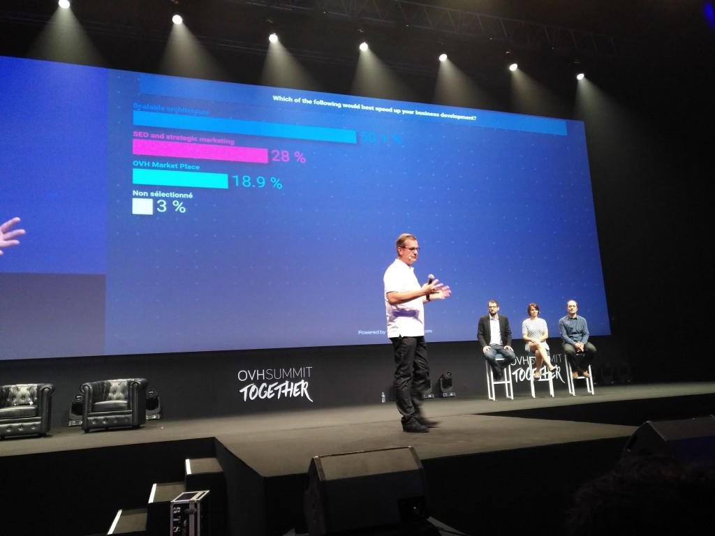 En palabras de Laurent Allard, CEO de OVH, la arquitectura escalable de sus centros de datos es una de las características que más valoran los clientes
